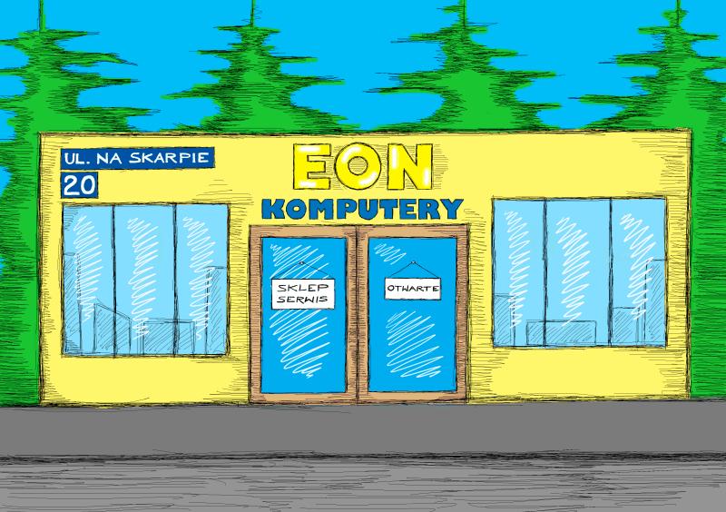 Eon komputer serwis komis sklep Home sklep